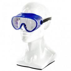 89161 Окуляри захисні закриті  з прямою вентиляцією, полікарбонат, СИБРТЕХ
