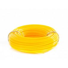 96147 Леска для тримера кругла, 2,4 мм х 15м, блістер//Denzel //