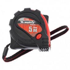 310059 Рулетка Status magnet 3 fixations, 5м х 25мм, прогумований корпус,зачіп з магнітом//МТХ