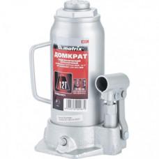507279 Домкрат гідравлічний пляшковий, 12т, h підйому 230-465 мм//MTX MASTER