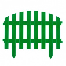 """Паркан декоративний """"Вінтаж"""", 28х300см, зелений// PALISAD"""
