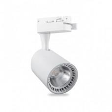 AL102  Cвітильник світлодіодний (трек) COB 12W 960Lm 4000K IP40 білий 80*180*170мм