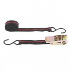 Ремінь багажний з крюками, 5м, храповий механізм Automatic//Sparta