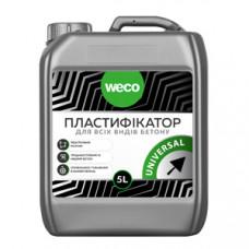 Пластифікатор (для всіх видів бетону) WECO UNIVERSAL 5л